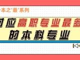 陕西省统招专升本对应高职专业较多的本科专业