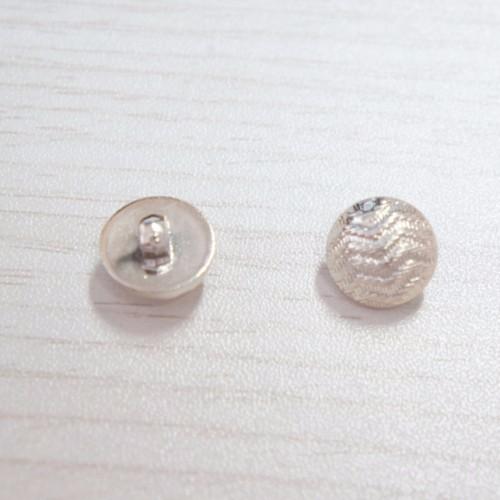 雄真20L(12.5mm)塑料浅金手缝扣