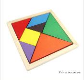 大号益智七巧板 彩色七巧板 儿童3-7岁智力七巧板 百变智力七巧板