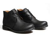秋冬男鞋男士英伦马丁靴真皮男靴子高帮加绒工装靴潮流短靴加棉鞋