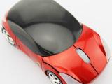 厂家批发创意法拉利跑车鼠标七彩灯光无线鼠标滑鼠光电汽车鼠标