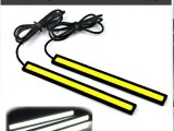超薄汽车LED日行灯超高亮防水COB大功率通用型改装日间行车灯1