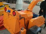 新余供应移动木材切片机-移动式树枝粉碎机诚信价格出售