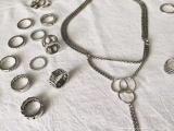 法国圣罗兰YSL项链戒指手链套装一比一高品质