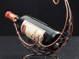 高档铁艺海螺圈红酒架家居用品 装饰工艺品 葡萄酒架