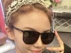 韩国进口材料发箍韩版发箍气质宽边蕾丝花朵头饰 发饰批发
