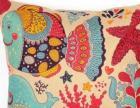 15年新款北欧宜家风格抱枕棉麻系列