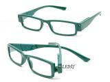 新款;LED老花镜 带灯花镜 LED带灯老花眼镜 LED眼镜 较