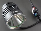 单车灯 自行车灯 前灯 LED 头灯 强光 充电 山地车灯T6U