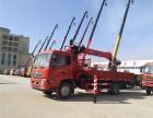 6.3吨8吨东风天锦随车吊 豪华高配