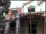 北京搭建阁楼别墅改造室内做夹层露台搭建钢梯制作