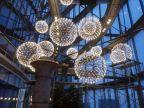 铭星吊灯别墅会所复式楼中庭大厅高档欧式古典五星级酒店灯具