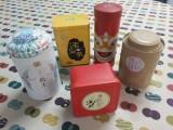 圓形馬口鐵罐普洱茶葉盒子鐵空盒包裝通用高檔密封茶葉罐鐵盒家用