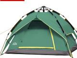 柯瑞普 两用自动帐篷户外双人双层防雨野营帐篷 弹簧速开四季帐蓬
