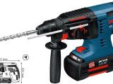 博世锂电充电式锤钻GBH36V-Li (锤钻锆3用)正品