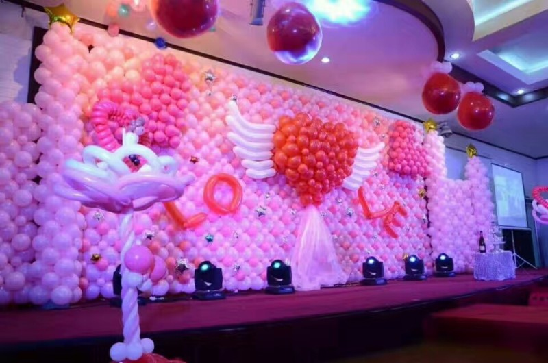 成都气球装饰,宝宝宴装饰