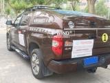 豐田坦途皮卡車全金屬雙層冷鋼全封閉斜蓋運動款后雨蓬