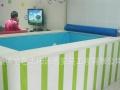 供应山东厂家定做0-6岁婴幼儿游泳池配锅炉循环杀菌