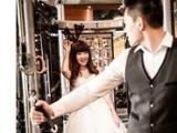 拍摄公主套系婚照