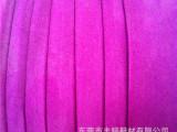 价格实惠高质粉红色桔色绒面超纤服装皮革浅绿色酒红色手套PU革pu