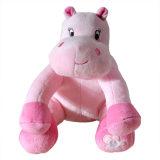 出口法国  公仔粉色毛绒小玩偶 河马娃娃 装饰品