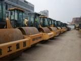 上海奔钫二手压路机现货200多台,场地实拍照片