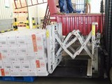 中德诺克叉车属具叉车推拉器化肥推拉器淀粉推拉器搬运装卸设备
