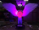 天使翅膀道具订制出售 发光翅膀出租出售
