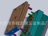 锌合金压铸模-开发-设计-制作-平面模具图示