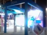 廣告噴繪廠家背膠噴繪布x展架易拉寶kt板背景墻桁架搭建安裝