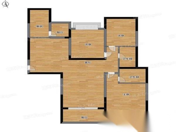 恒大城精装大3房出售 自住房 家具家电全带 单价9500不到