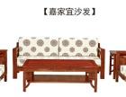 红木家具批发 实木组合客厅沙发 非洲花梨木全实木沙发
