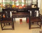 北京红酸枝木中堂回收二手老红木写字台回收大红酸枝屏风回收
