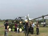 威海景区装饰仿真军事飞机模型出租