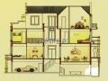 中海奥龙观邸435平双拼花园洋房证过五年随时看房子