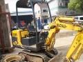 转让 挖掘机玉柴重工二手13微型农用果园小挖机
