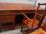 红木书桌,移民出让