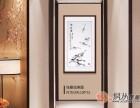 国画里的装饰艺术,客厅书房挂画彰显你高雅的文化品位