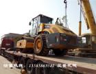 西双版纳二手振动压路机公司,22吨26吨单钢轮二手压路机买卖