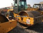 广州二手振动压路机公司,22吨26吨单钢轮二手压路机买卖
