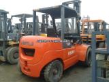 西安二手叉车市场,二手杭州10吨叉车