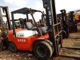 平顶山二手杭州 合力内燃叉车3吨内燃式叉车柴油叉车
