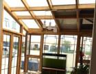 天津别墅铝包木门窗