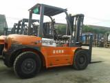 二手叉车市场,二手杭州7吨叉车