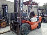 二手杭州 合力内燃叉车3吨内燃式叉车柴油叉车