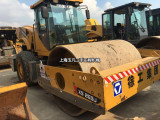 通化徐工22吨二手压路机价格,二手震动压路机26吨钱