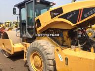 广州26吨二手振动压路机公司,二手压路机22吨单钢轮