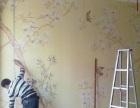 天津塘沽区屋内贴壁纸+质量保障/免费测尺