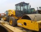 东莞个人二手压路机,20吨22吨26吨单钢轮压路机