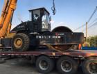 西安二手振动压路机公司,22吨26吨单钢轮二手压路机买卖